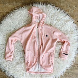 Abercrombie Kids || Pink Drapey Jacket
